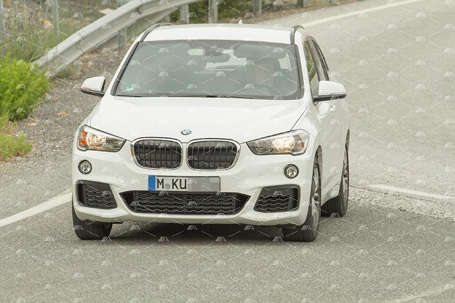 Fotos espía del BMW X1 M35i xDrive 2017