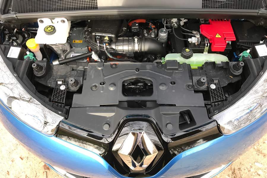Motor eléctrico del Renault Zoe.