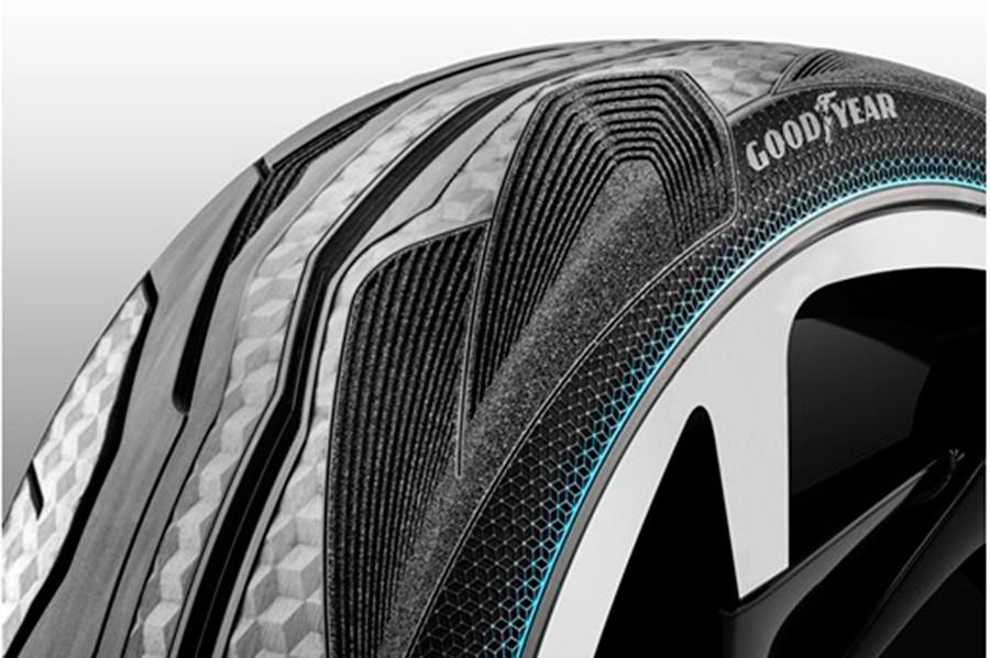 Los neumáticos del i-Tril han sido desarrollados por Goodyear