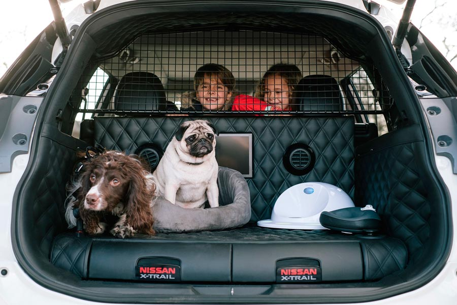 Nissan X-Trail 4Dogs, el coche perfecto para transportar mascotas