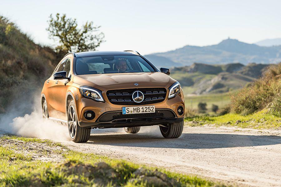 Merceds-Benz GLA más dinámico.