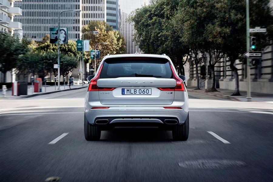 El nuevo Volvo XC60 sigue la línea de diseño de los últimos lanzamientos de la marca.