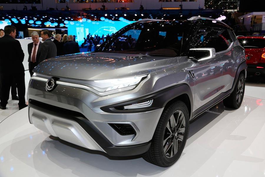 SsangYong XAVL Concept: otro 7 plazas para Ginebra