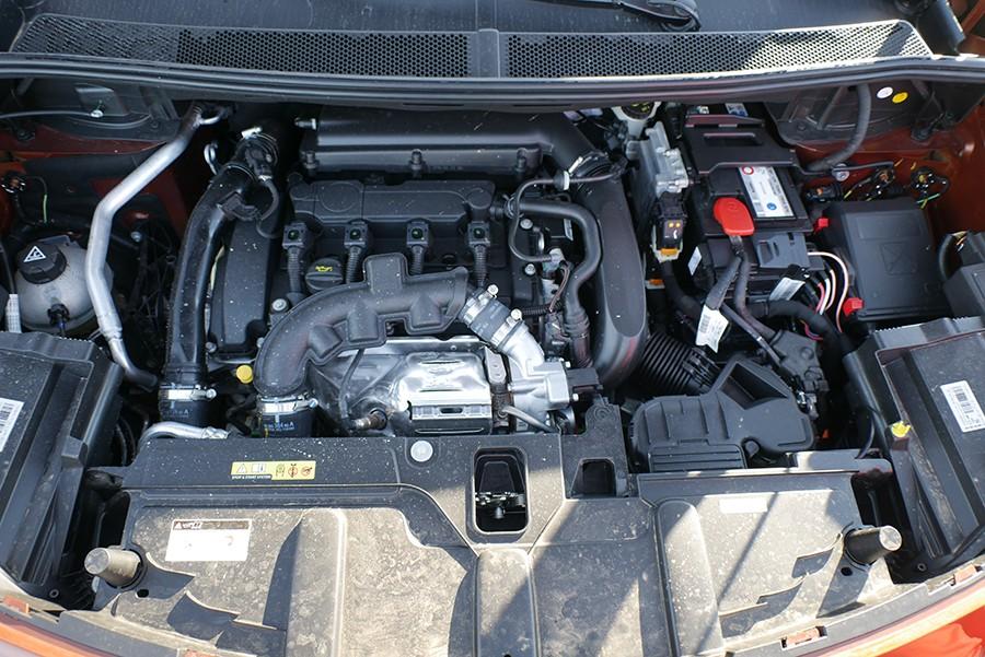 El motor 1,6 THP es muy agradable de utilizar.