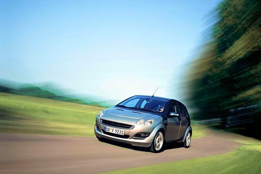 El Smart ForFour llegó al mercado gracias a la colaboración de Mitsubishi.