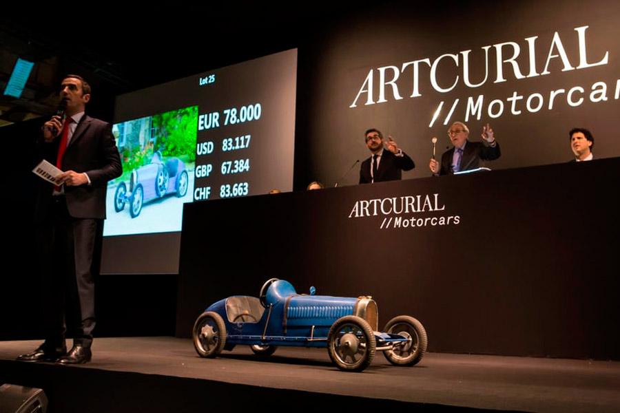 Bugatti Baby Type 52.