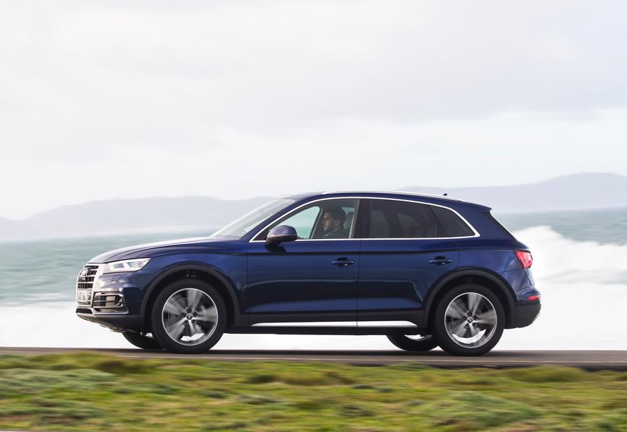 En el diseño de esta nueva y segunda generación del Audi Q5 han puesto énfasis en remarcar los pasos de rueda.