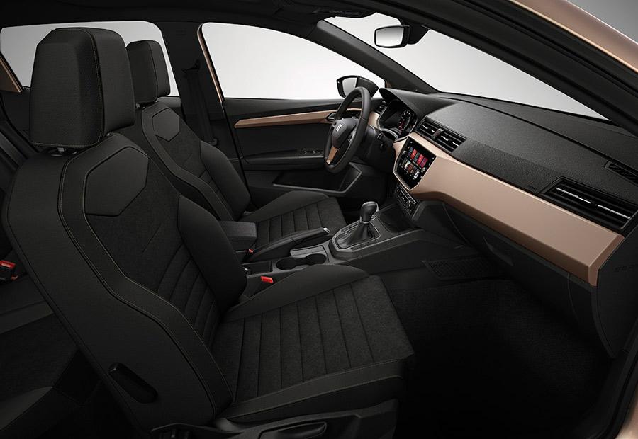 6 centímetros más de anchura y nada menos que casi 10 en batalla son los aspectos más destacados del espacio interior del nuevo Seat Ibiza 2017.
