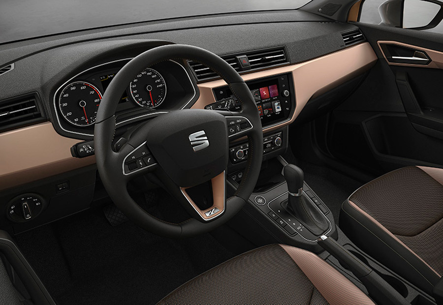 La calidad con que se ha fabricado el nuevo Seat Ibiza es patente en el interior.