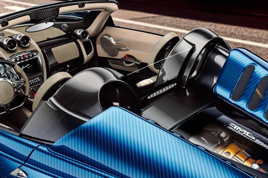 Pagani Huayra Roadster.