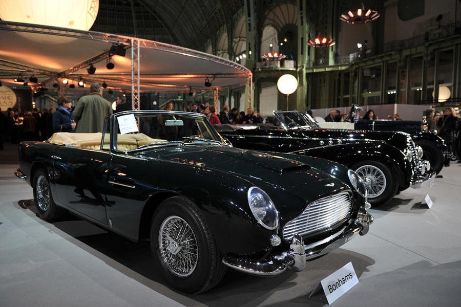 Aston Martin DB5, subastado por Bonhams.