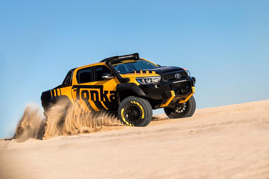 """Toyota Hilux Tonka Concept o cómo ir al Dakar con un coche """"de serie"""""""