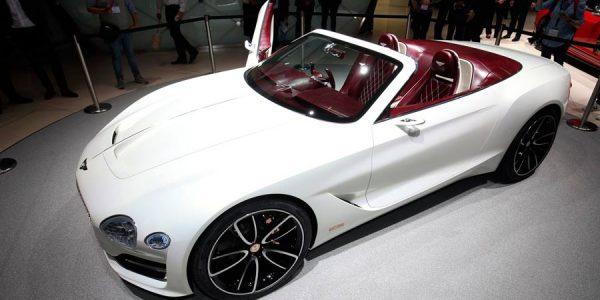 Bentley EXP 12 Speed 6e Concept, lujo eléctrico a cielo descubierto