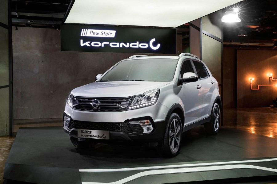 SsangYong Korando 2017: más equipamiento en su leve facelift