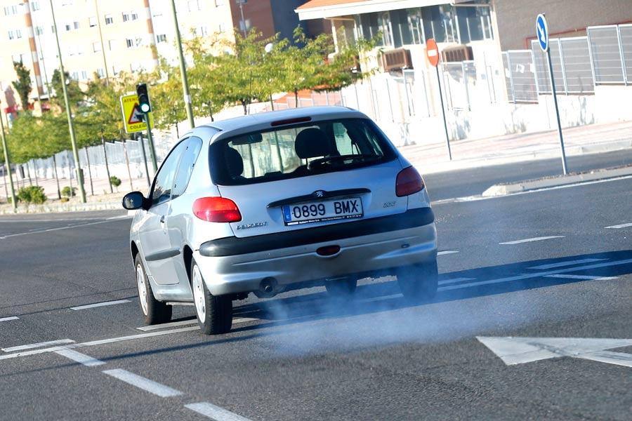 El problema de la contaminación es cada vez más frecuente en los núcleos de las grandes ciudades.