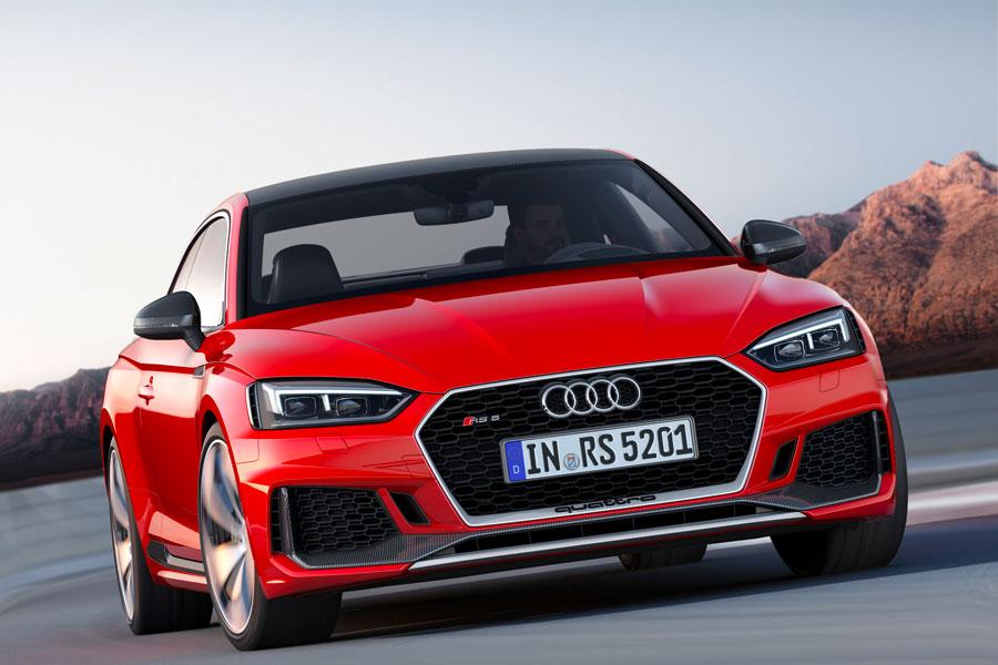 La parrilla cambia por completo en el nuevo Audi RS 5 2017.