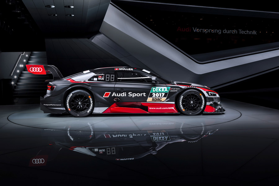 Nuevo Audi RS 5 DTM 2017.