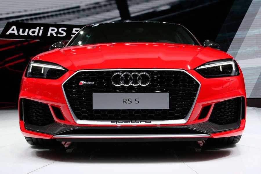 La parrilla del RS 5 es totalmente innovadora.