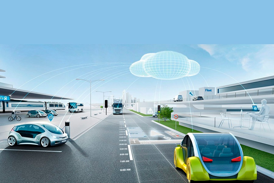 La comunicación entre coches, infraestructuras y cliente son fundamentales.