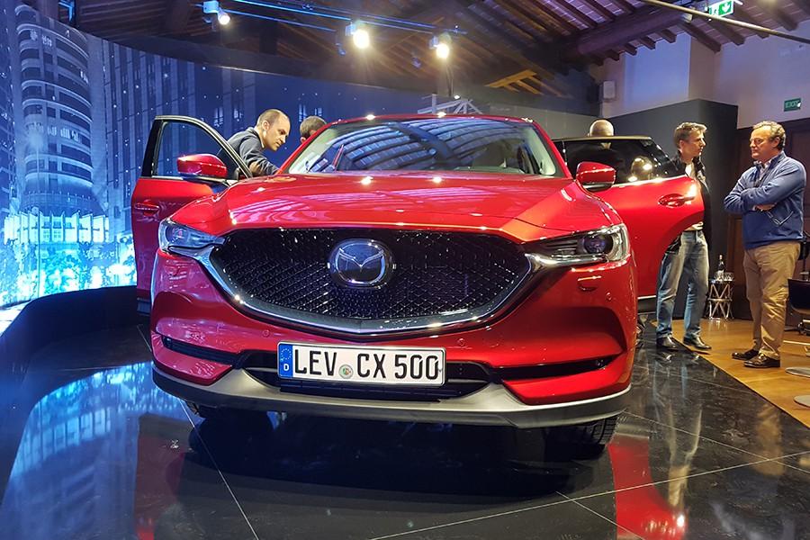 El nuevo Mazda CX-5 es uno de los SUV más atractivos de su categoría.