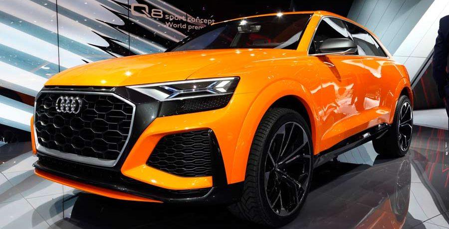 Audi Q8 Sport Concept, anticipo del nuevo SUV en Ginebra
