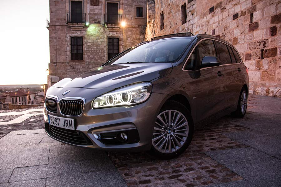 La autonomía del BMW 220d Gran Tourer es de aproximadamente 900 kilómetros.