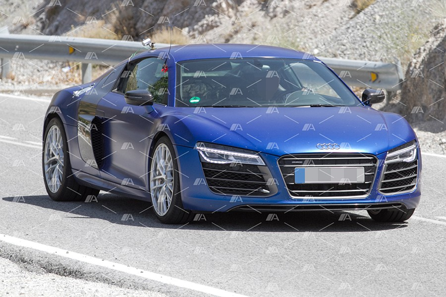 Fotos espía de la mula del Audi R8 de hidrógeno