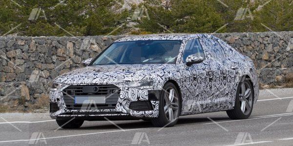 Fotos espía del Audi A6 2018