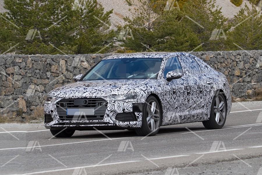6ee05474840 Fotos espía del Audi A6 2018 | Autocasión