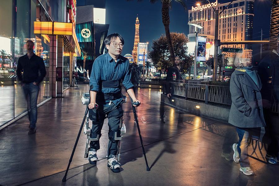 Hyundai presenta sus exoesqueletos para humanos en Ginebra