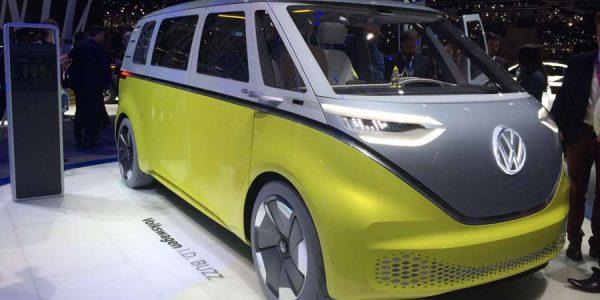 El VW I.D. Buzz Concept desembarca en Ginebra 2017