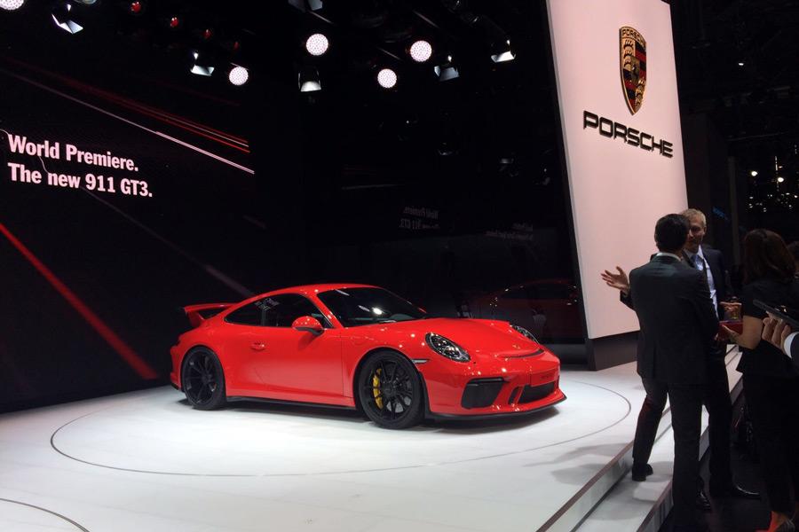 El Porsche 911 GT3 es la versión más deportiva de la gama.