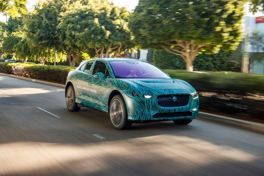 Jaguar I-Pace, el SUV eléctrico de Jaguar está casi a punto