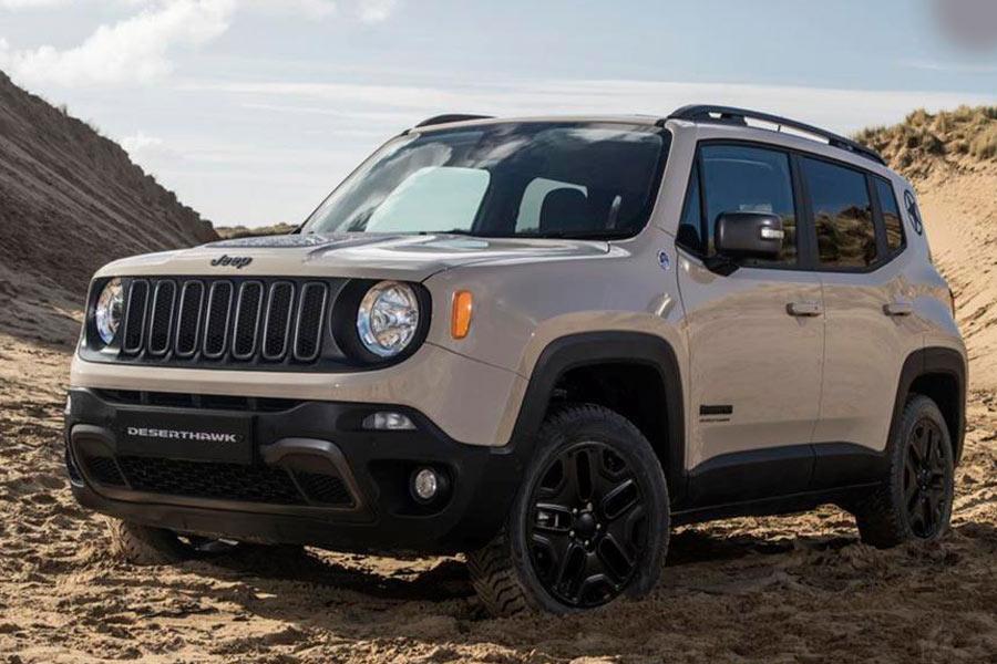 La edición especial Jeep Renegade Deserthawk está basada en el acabado Trailhawk.