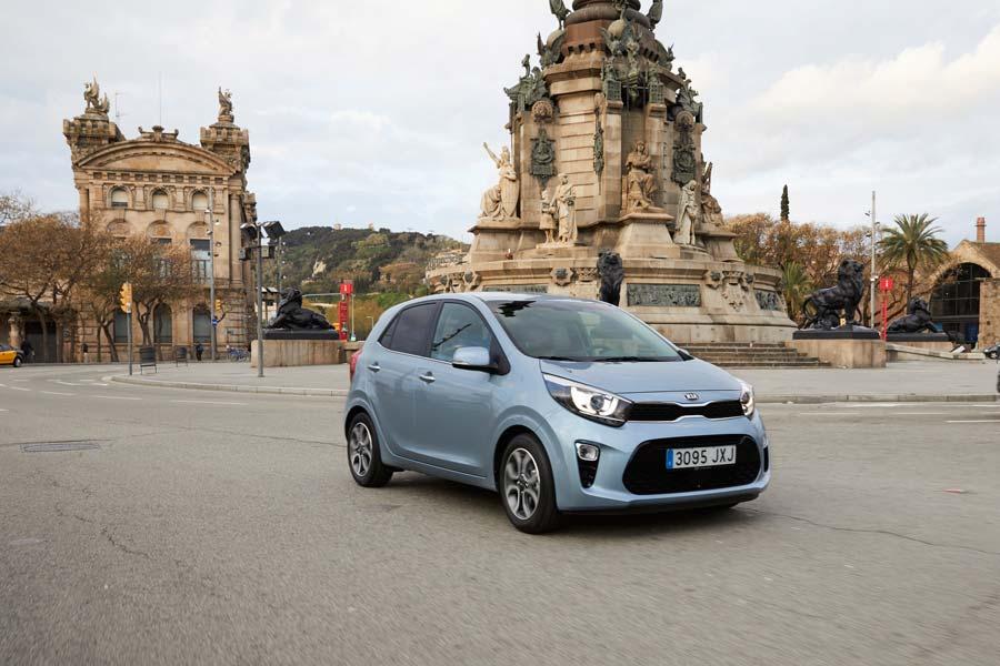 El Kia Picanto es un coche pensado para la ciudad.