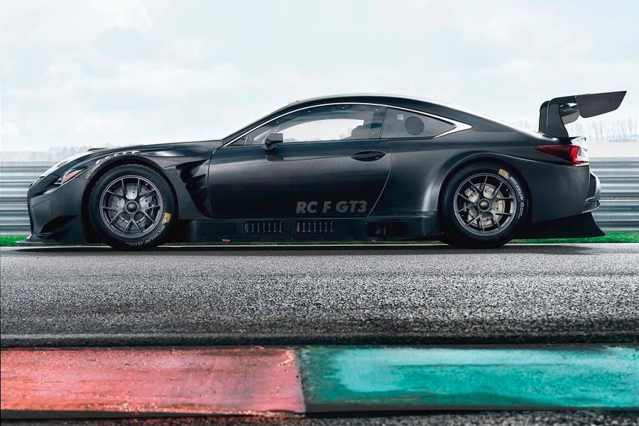 Siente la adrenalina de Lexus en Ginebra con su RC F GT3