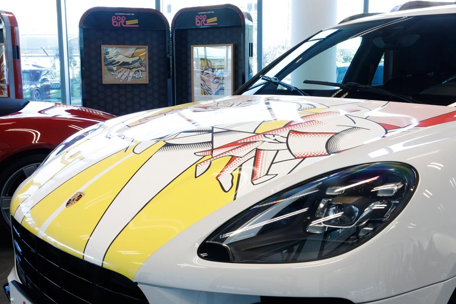 Porsche, con el trazo del arte y la exclusividad… una vez más
