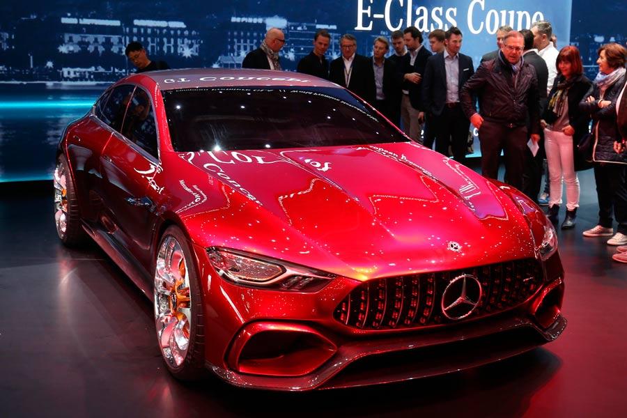 Mercedes AMG-GT Concept, prototipo híbrido de 850 CV