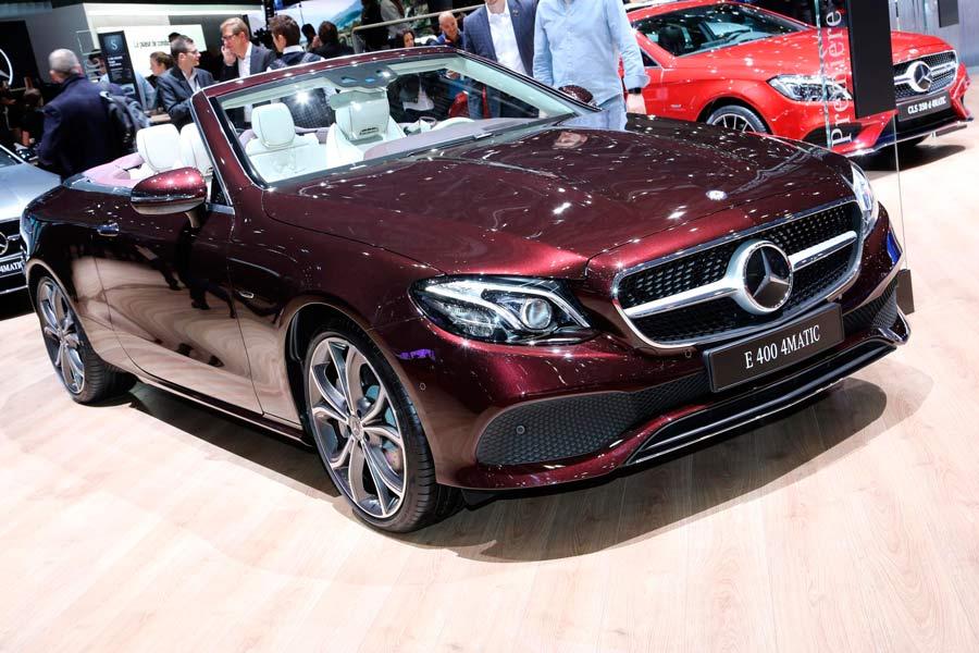 Nuevo Mercedes Clase E Cabrio en Ginebra 2017