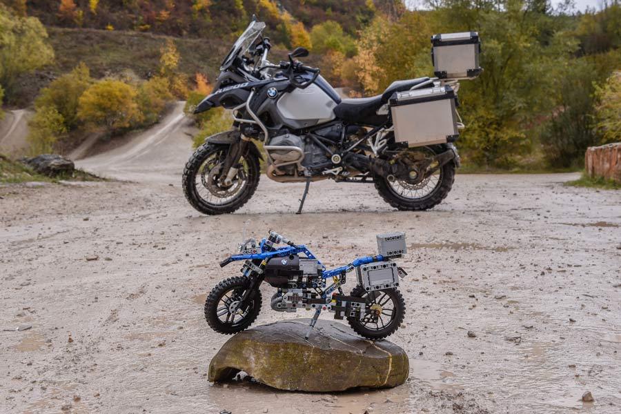 BMW Motorrad R 1200 GS Adventure Lego.
