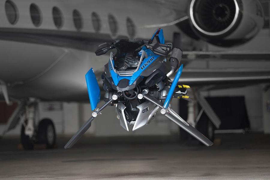 La moto voladora que podría dejar de ser un concept