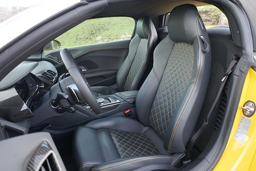 Estos asientos, y el coche en general, son mucho más cómodos de lo que podamos imaginar.