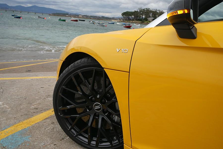 El V10 es uno de los pocos motores sin sobrealimentación que quedan en el mundo de los superdeportivos.