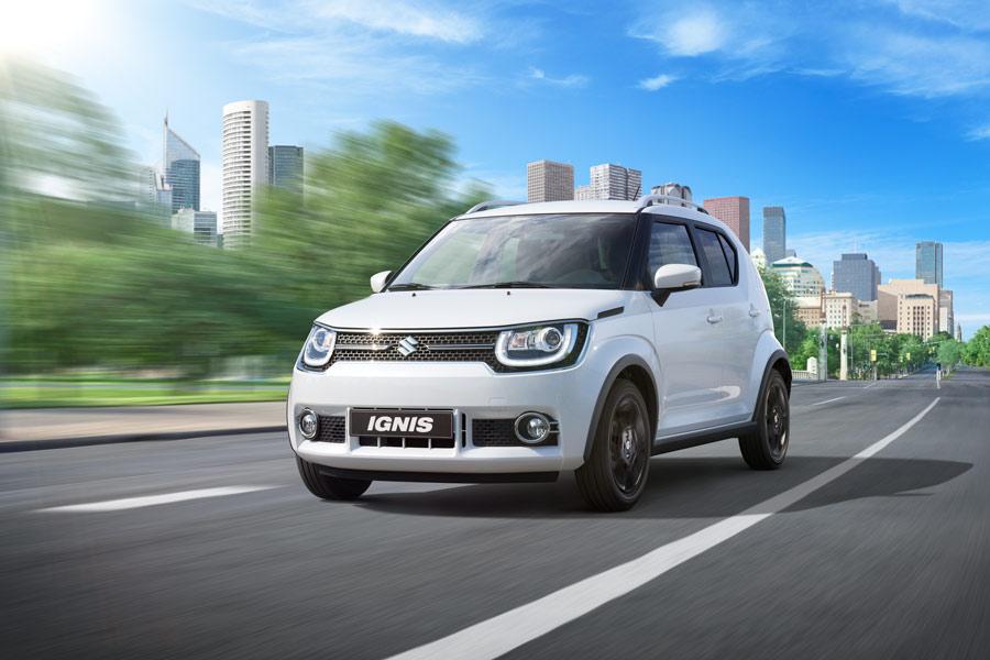 El Suzuki Ignis ofrece un consumo muy reducido.