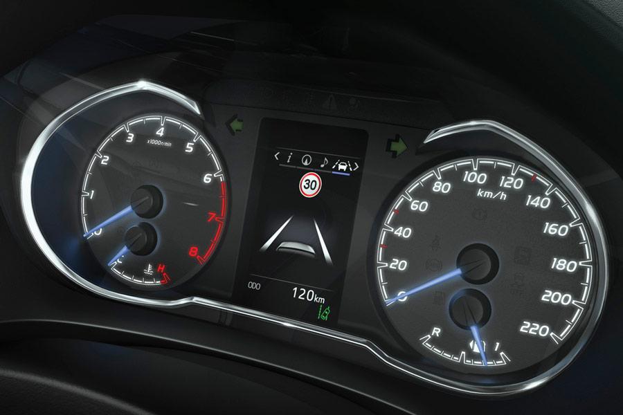 La pantalla TFT de 4,2 pulgadas es una de las novedades del nuevo Toyota Yaris,