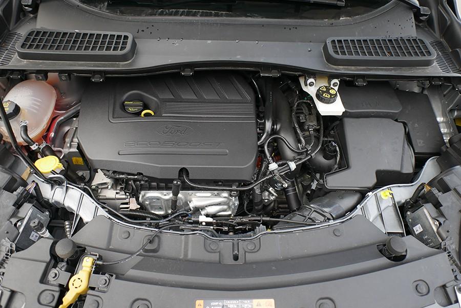 El motor 1.5 Ecoboost de 150 CV ofrece unas prestaciones correctas, pero sus consumos son elevados.