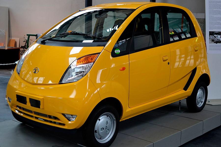 El Tata Nano no se llegó a comercializar por problemas de seguridad.
