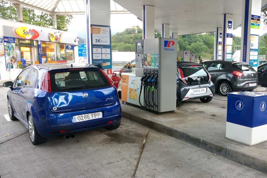 Qué pasa si te equivocas de combustible al repostar