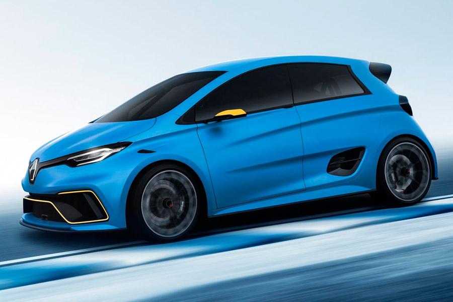 El Zoe e-Sport Concept toma la experiencia de Renault Sport en la Fórmula E.