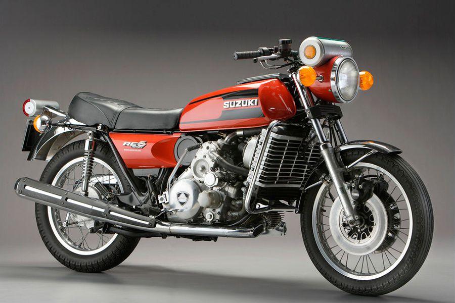 La Suzuki RE5 fue una moto revolucionaria.